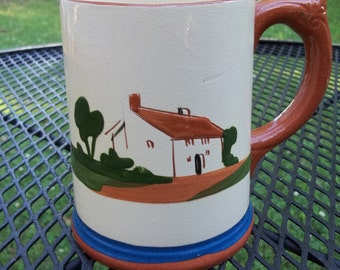 Vintage Dartmouth Pottery Torquay Mug Stein Made in England