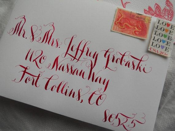 "Wedding Calligraphy--""Sunshine"" Font"