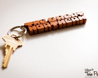 Twin Peaks' The Great Northern Hotel Keychain
