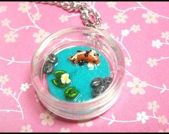 Koi Pond Necklace