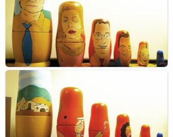 Custom Nesting Dolls - Made to order