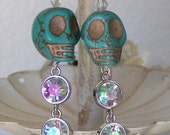 Sugar Skull Prom Sugar Skull Earrings