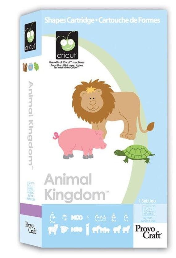 Cricut Cartridge | ANIMAL KINGDOM