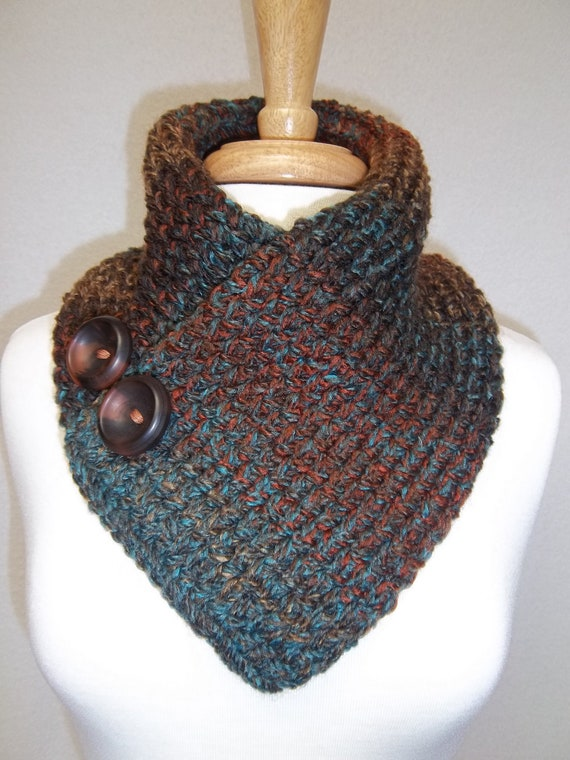 Knitting Pattern For A Cowl Neck Scarf : Unavailable Listing on Etsy