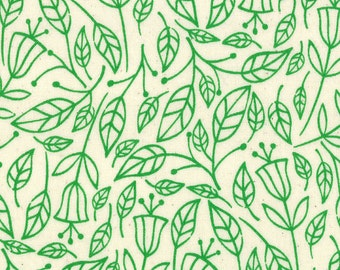 One Yard Summersville - Lucie Summers for Moda - Fall in Leaf Green