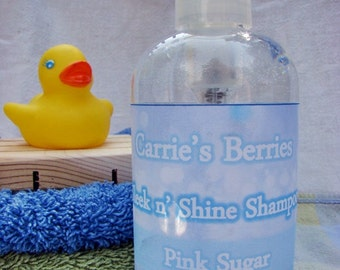 Sleek n' Shiny Shampoo -- Large 8oz bottle with pump dispenser --