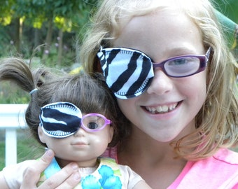 American Girl Doll Eye Patch Set - REVERSIBLE