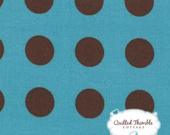 Oh Deer by Momo - Bright Sky Bark Dot (16073-28) - 1 Yard