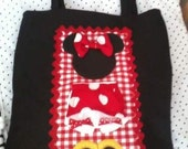 Minnie Mouse Tote/Diaper Bag