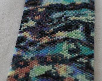 Colorful Paua Number Seven Bracelet