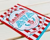 Carnival Collection. Invitation. DIY Printable Design. Pinkadot Shop