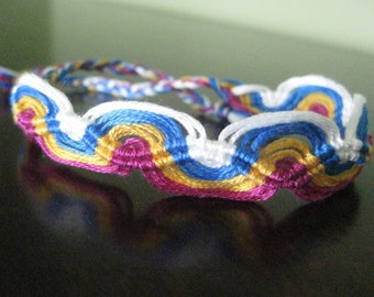 Single Waves Friendship Bracelet