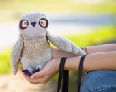 Owly owl's  twin brother- soft art toy  by Wassupbrothers.