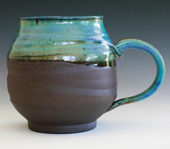 RESERVED FOR GINGER, Extra Extra Extra Large Coffee Mug, Holds 42 oz, handmade ceramic cup, ceramic stoneware mug, coffee cup