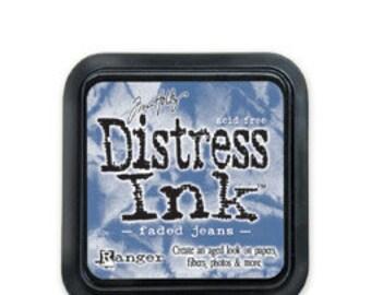 Tim Holtz Distress Ink-Faded Jeans