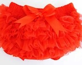 Awesome  Tutu Bloomers Red