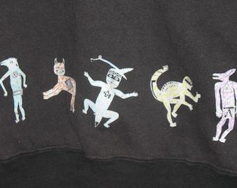 "SALE Heart ""Bad Animals"" Sweatshirt"