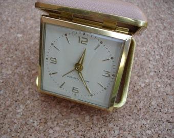 Wonderful Vintage Travel Alarm Clock