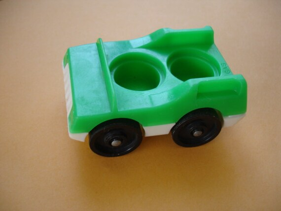 Vintage Fisher Price Little People Car