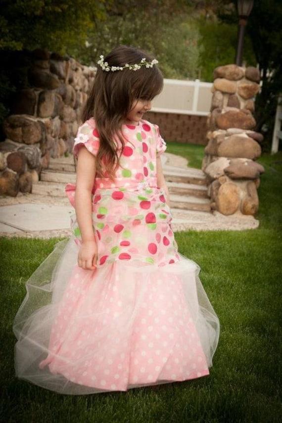 Custom Little Girl's Easter Dress