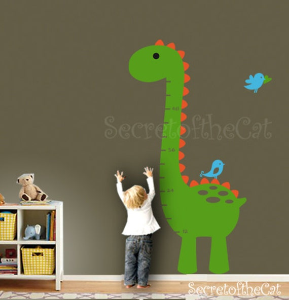 Nursery wall decal wall decals nursery kids growth chart for Growth chart for kids room
