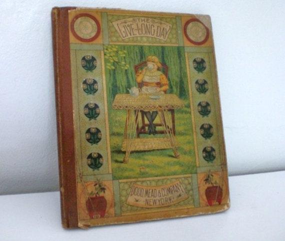 Vintage Children's Book Live-Long Day