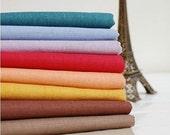 Cotton Linen Fabric Cloth -DIY Cloth Art Manual Cloth -Plain Coloured Cotton Fabric 53 x19 Inches
