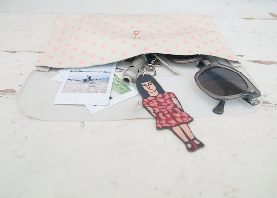 Leather Girl Keychain