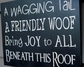 DoG JoY, TypOgraphy, Subway ArT, Hand PaInTed SigN, PriMitive Sign Pet Lover