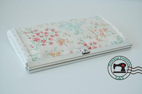 Frame Wallet PDF Sewing Pattern