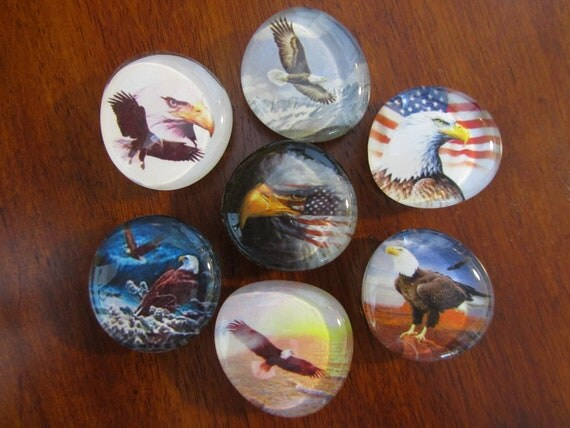 Majestic PATRIOTIC EAGLE Magnets
