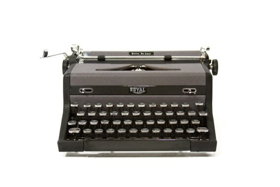RESERVED Royal Quiet Deluxe Typewriter