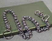 Twist of Fate Stainless Steel Chainmaille Wallet Chain