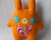 30% OFF Orange Chubby Bunny Plush by Michelle Coffee