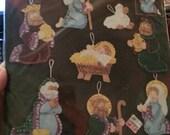 Joy to the World - 8 Piece Felt Ornament kit