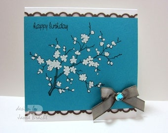 Beautiful Cherry Blossom - Birthday Greeting Card