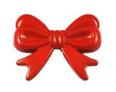 Huge Red Bow Beads