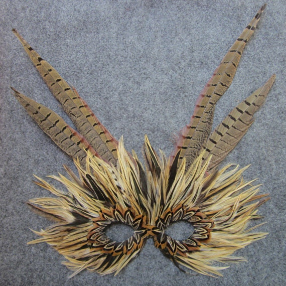 Tiger Feather Winged Mask 3