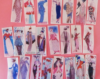 1920's Art Deco Fashion Plate edible image wafer papers for your iced cookies, cakes, chocolates