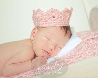 Ready to Ship * Crochet * Crown * Goldfish Orange Crown * Tiara * Child Size * Prince * Princess * Dress Up * Costume * Headband * Headwrap