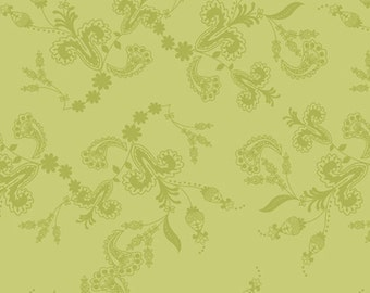 Lilly Belle Fabric by Bari J - Art Gallery Fabrics - Belle Vines in Oasis (LB-2109) - By the Yard