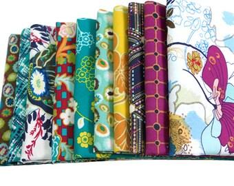 INDIE - Art Gallery Fabrics - HALF YARD Bundle - Midnight Temple 10 pcs