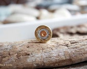 Authentic Winchester Gold, Silver, and Copper Shot Gun Shell Pin