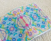 Beautiful patterned handmade Art Notebook - in Carnivale of Life print