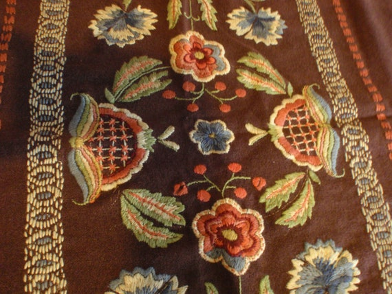 Antique Table Runner/Shawl Turn of the Century  marked down    Reserved for Bonnie