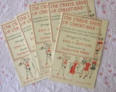 Stop Chugging the Eggnog, Edna - TWELVE DAYS of CHRISTMAS-  It's a Musical Playlet in Pantomime, Song and Dance - Booklet from 1956