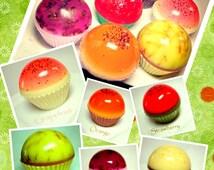 Fruity Cupcakes Soaps - exclusive design by Kokolele