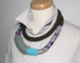Jewelry / Eco-Friendly Necklaces Handmade Shabby Chic tube necklace