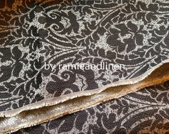 "silk fabric,100% silk damask brocade fabric,  fat quarter, 18"" by 22"""