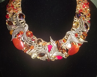 Magical Phoenix Crystal Necklace